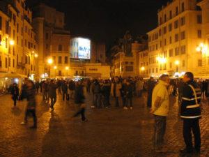 Rome tombée du jour